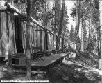 Grand View Row Tents, Canyon Camp