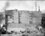 Walker Building Site showing Herald Building