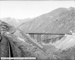 Bingham and Garfield Railroad, Train on Trestle