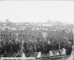 Taft at Fairgrounds showing Crowd
