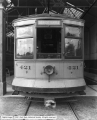 Street Car Showing End of Car