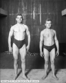 Wrestlers, William Demetral and Mike Yokel