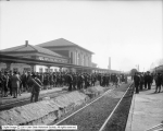 Soldiers at Denver and Rio Grande Depot