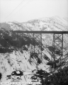 Bingham and Garfield Railroad, Bridge Over Markham, Panorama A