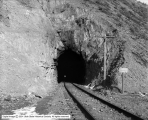 Bingham and Garfield Railroad, Looking Through Tunnels