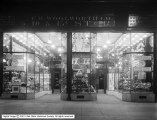 F. W. Woolworth Storefront at Night