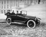 U. S. Tire Company, Governor in Auto at Capitol Steps