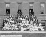 Group at Deaf School, Ogden, Utah