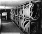 Bertram Motor Supply Company, Tires in Basement