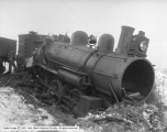 Wreck on Denver and Rio Grande Railroad, Freight Engine