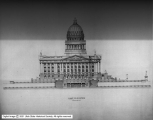 Utah Capitol Competition, East Elevation