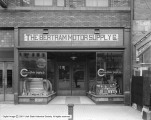 Bertram Motor Supply Company Windows and Store Front