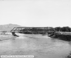 Bridge over Bear River near Evanston, Wyoming
