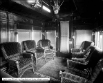 Newhouse Private Car: Parlor From Passage