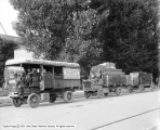 Cheesman Auto Company, Two Auto Trucks and Wagon
