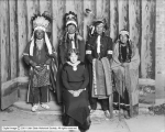 Mrs. Willard Mack and Indians, Colonial Theatre