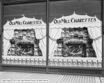 Park's Cigar Store, Old Mill Cigarette Window Display