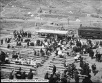 Railroad Day at Ely, Nevada, Speakers Stand