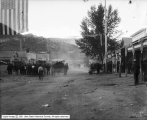 Railroad Day at Ely, Nevada, Street Scene