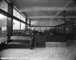 Merchants Bank Interior showing Office