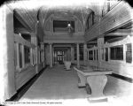 Walker Bank, Interior of Bank Toward Street