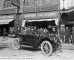 The Bertram Motor Supply Company, Auto in Front of Store