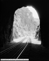 Bear River Canyon, View through Tunnel