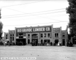 Rio Grande Lumber Company, Building, Men and Teams