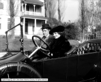 Willard Mack and Wife in Auto