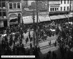 Street Car Strike - Crowd