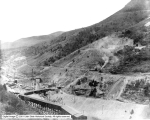 Utah Copper Mine, First Steam Shovel Work