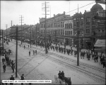 Street Car Strike Parade, Looking South