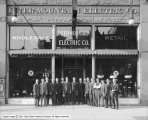 Intermountain Electric Company Store, Group in Front
