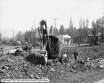 Steam Shovel, Ames Agency Company