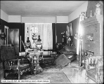 Mrs. W. Walker's Country House, Interior of Living Room