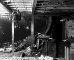 Hudson Bay Fur, Interior Showing Fire