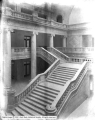 Capitol Building Looking Down Stairway