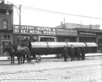 Western Heating and Sheet Metal Works, Tank on Wagon