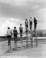 Two Step Ladder Company, Men on Ladders