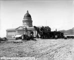 Christensen Construction Company, Steam Shovel and Capitol