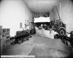 Inter-Mountain Electric Company, Interior of Sign Shop