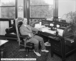 A. H. Crabbe at Desk