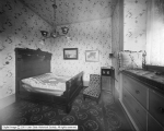 Amelia's Palace, Third Floor Bedroom Showing Old Bed of Brigham Young