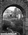Big Cottonwood Canyon Old Mill Through Stone Archway