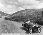 Auto in City Creek Canyon