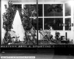 Western Arms and Sporting Goods Window