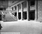 Capitol Building Interior Showing Swept Portion
