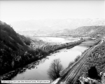 Oregon Short Line Railroad, Bear River Canyon Panorama 1