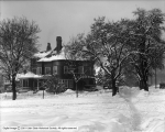 C. W. Whitley, Snow Scenes at Residence
