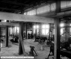 Utah Copper Company, Machine Shop Interior